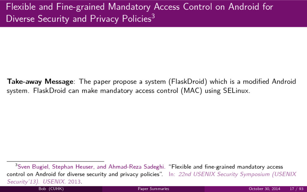 Flexible and Fine-grained Mandatory Access Cont...