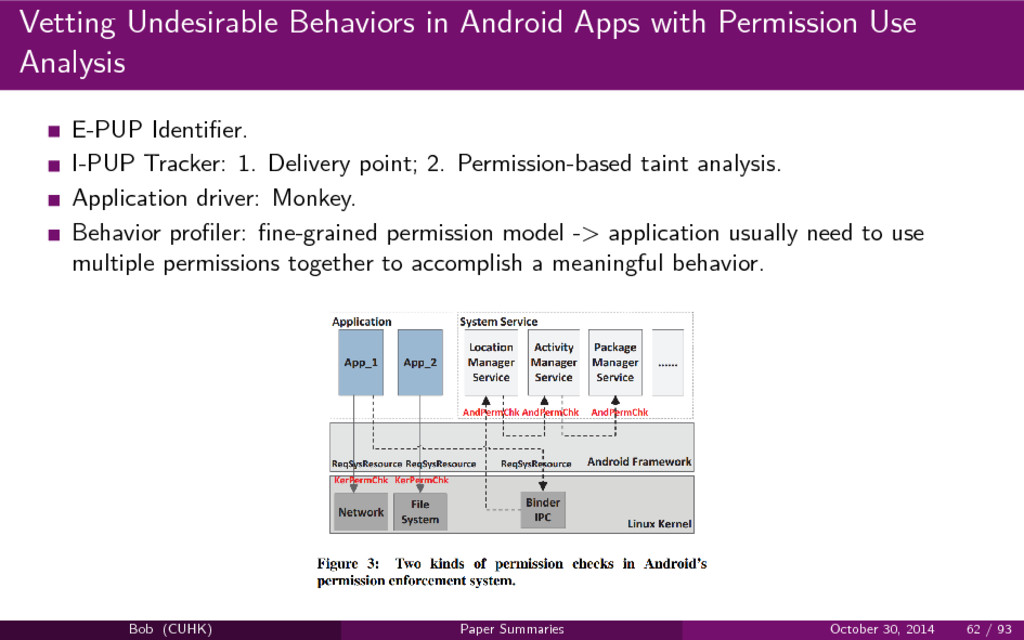 Vetting Undesirable Behaviors in Android Apps w...