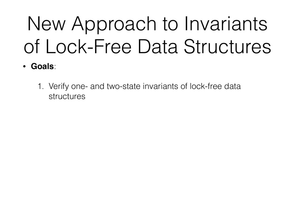 New Approach to Invariants of Lock-Free Data St...