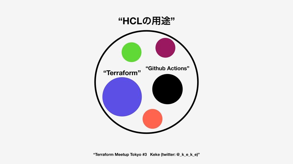 """""""Terraform Meetup Tokyo #3 Keke (twitter: @_k_e..."""