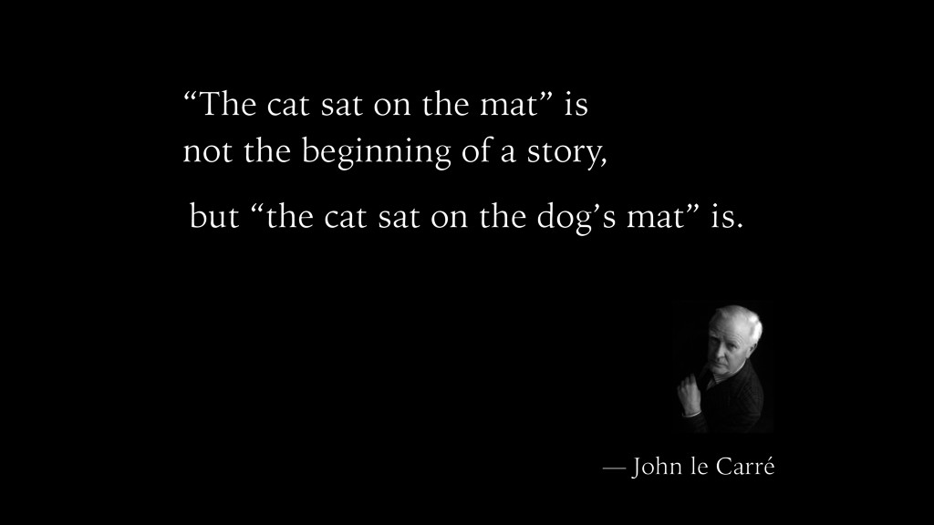 """The cat sat on the mat"" is not the beginning o..."