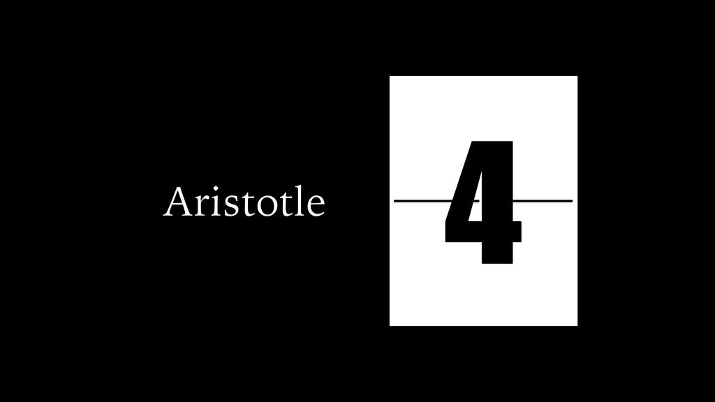 Aristotle simple tragic simple fortunate comple...