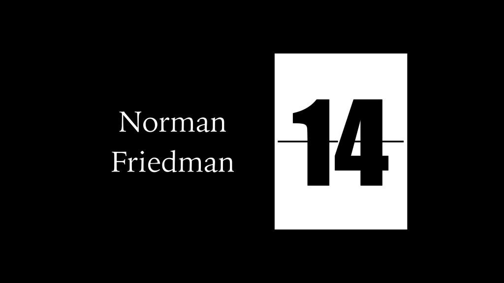 Norman Friedman action plot pathetic plot tragi...