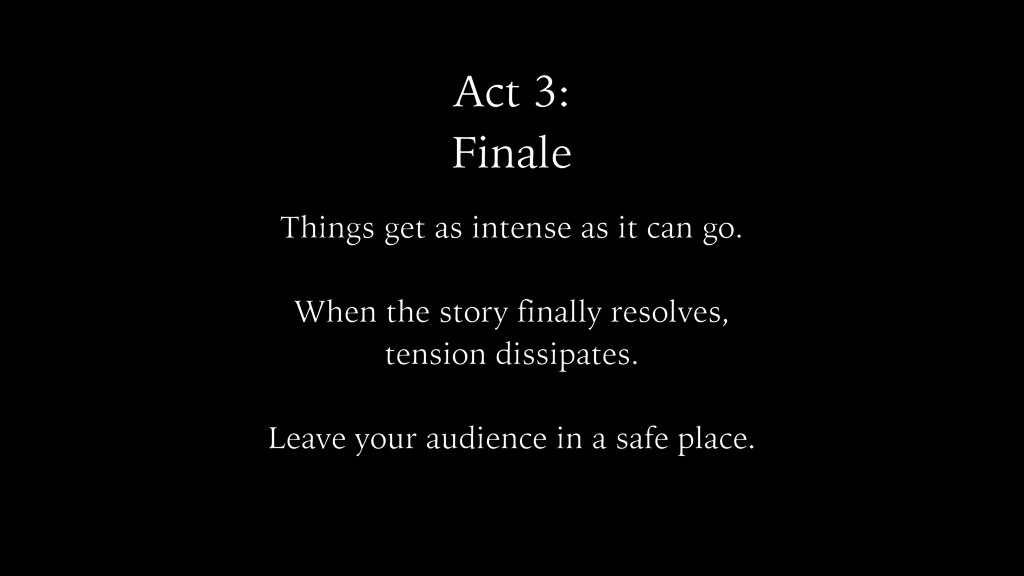 Act 3: Finale Things get as intense as it can g...