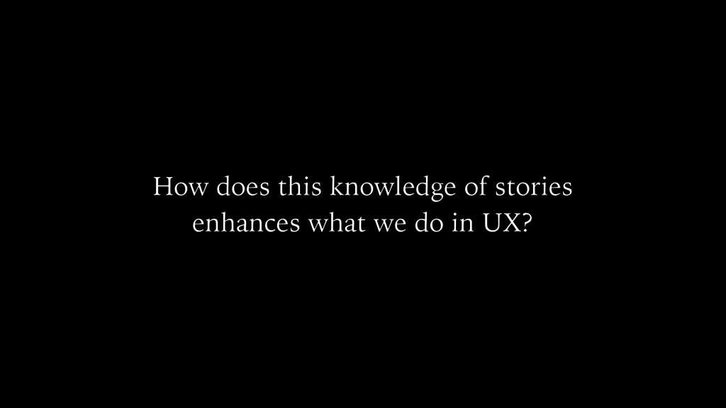 How does this knowledge of stories enhances wha...