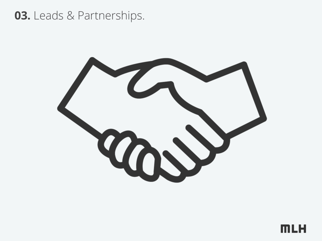 03. Leads & Partnerships.