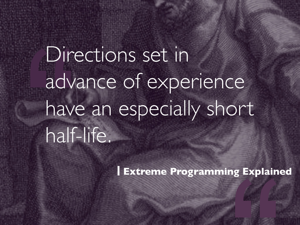 """"""" Directions set in advance of experience have ..."""
