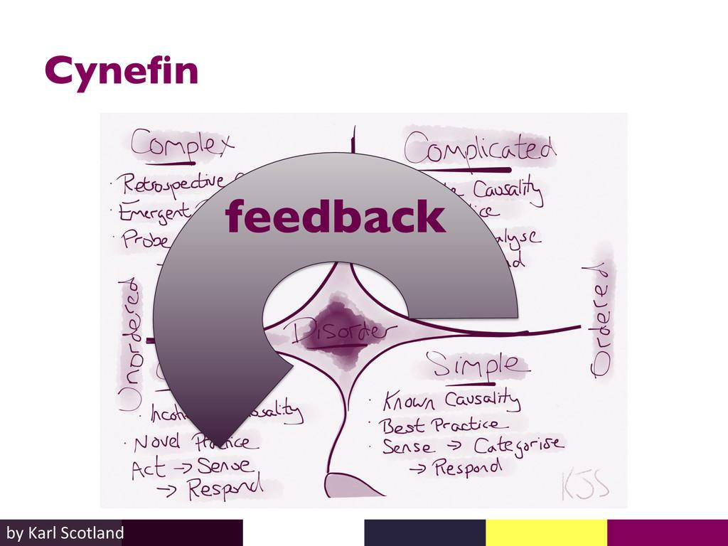 Cynefin  by Karl Scotland  feedback ...