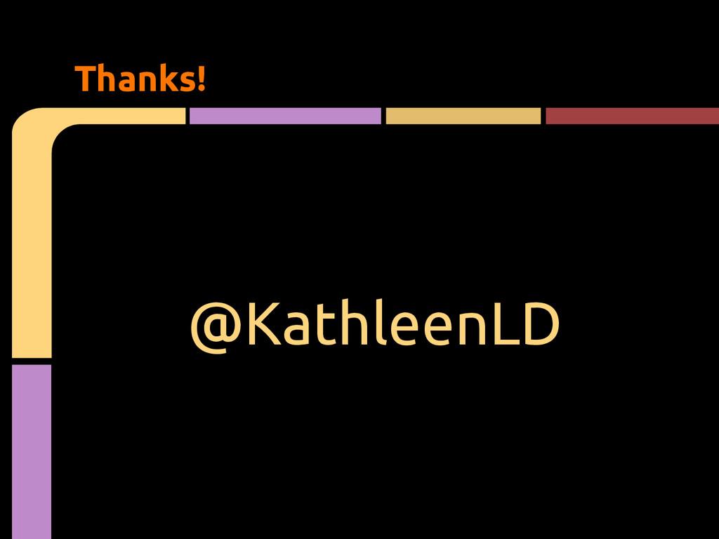 @KathleenLD Thanks!