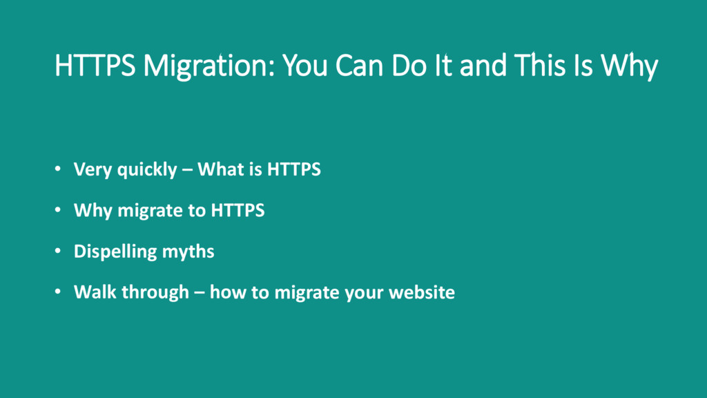 HTTPS Migration: You Can Do It and This Is Why ...