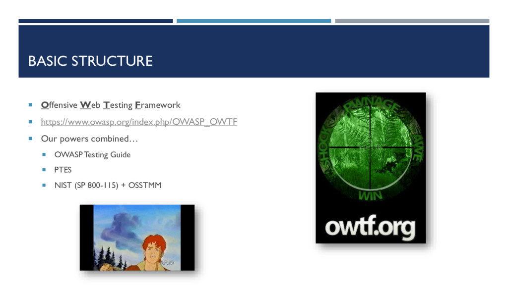 BASIC STRUCTURE  Offensive Web Testing Framewo...