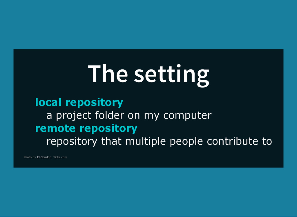 The setting local repository a project folder o...