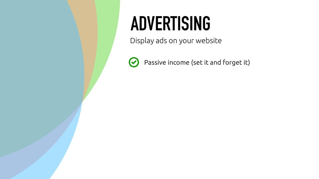 ADVERTISING Passive income (set it and forget i...