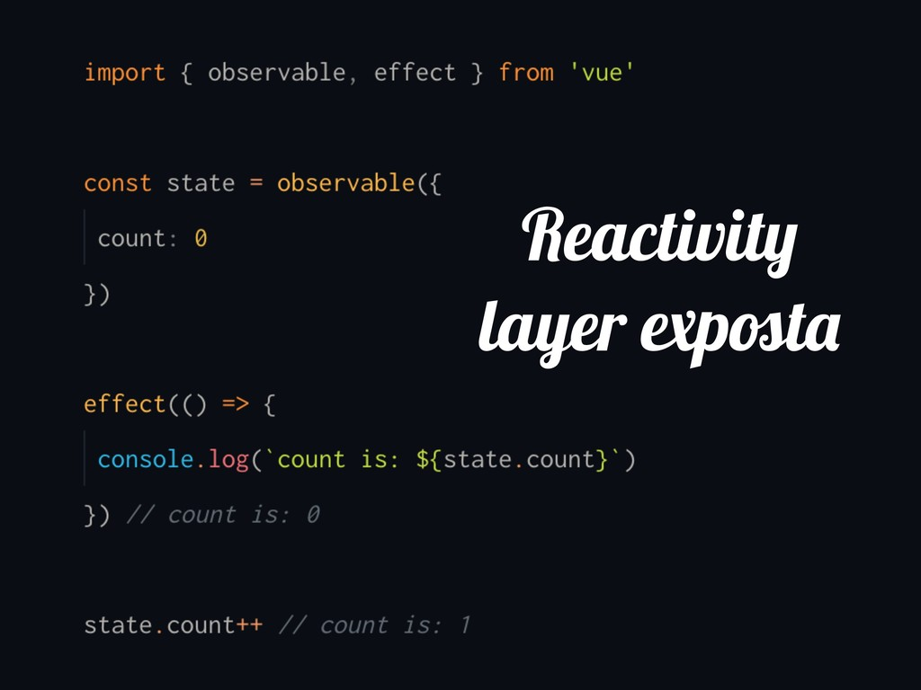 Reactivity layer exposta