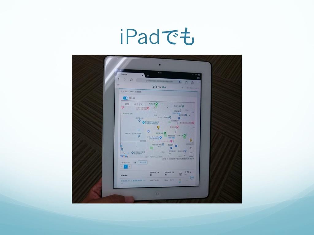 iPadでも