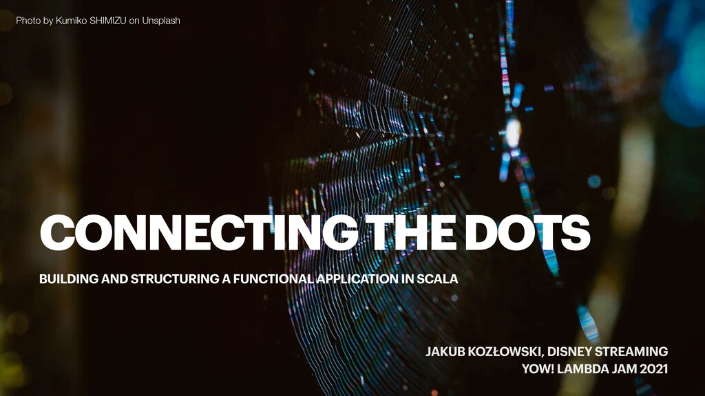 CONNECTING THE DOTS BUILDING AND STRUCTURING A ...
