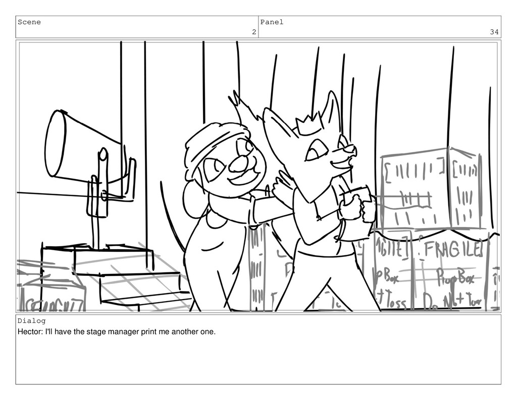 Scene 2 Panel 34 Dialog Hector: I'll have the s...