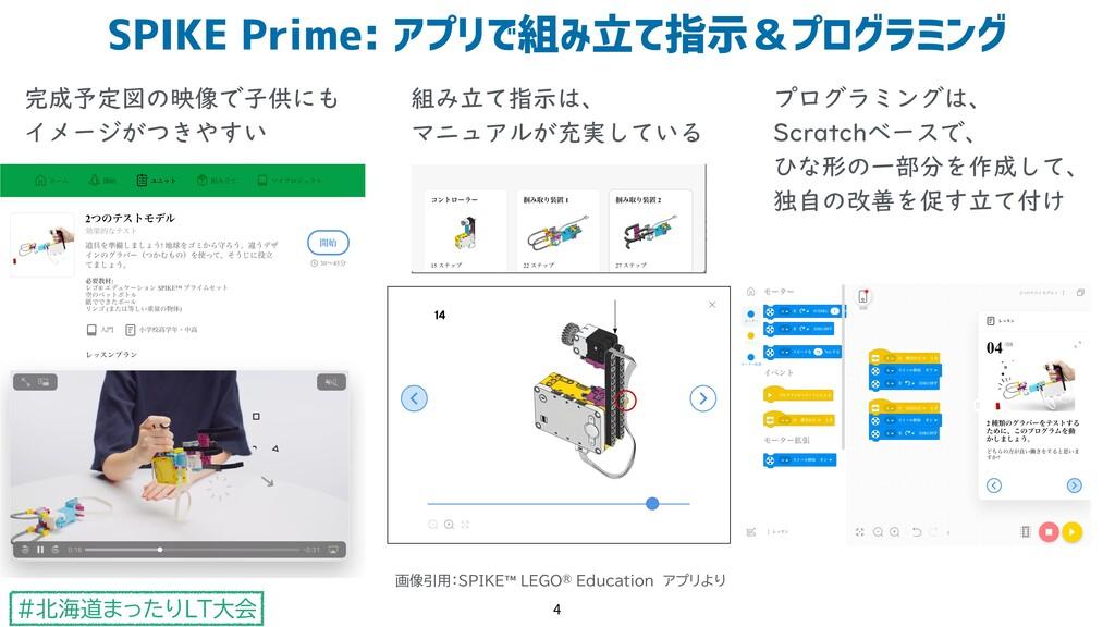 #北海道まったりLT大会 SPIKE Prime: アプリで組み立て指示&プログラミング 4 ...