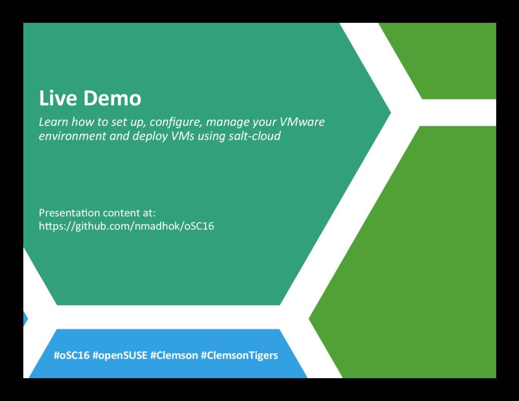 Live Demo Learn how to set up, configure, manage...