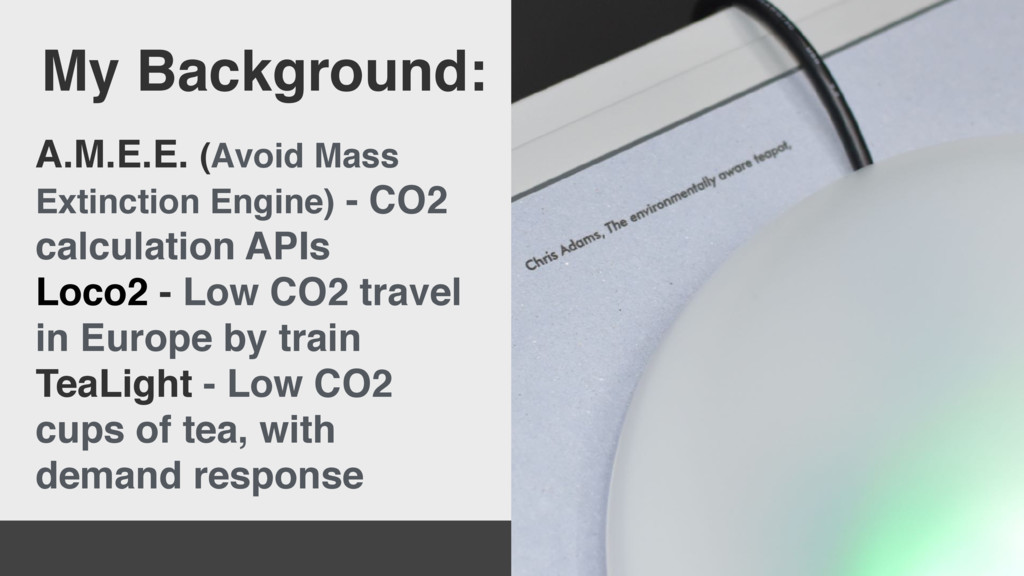 A.M.E.E. (Avoid Mass Extinction Engine) - CO2 c...