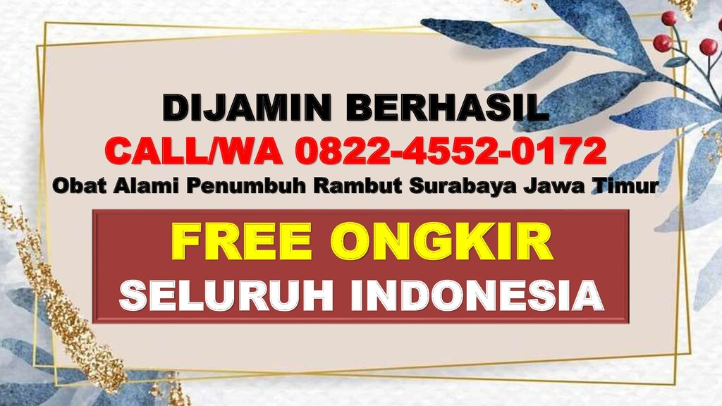 FREE ONGKIR SELURUH INDONESIA DIJAMIN BERHASIL ...