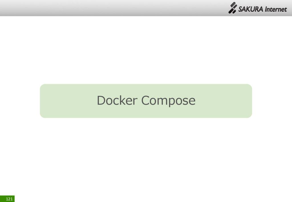 121 Docker Compose