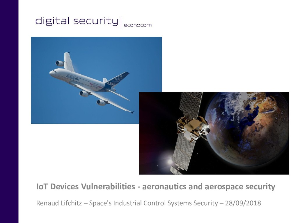 IoT Devices Vulnerabilities - aeronautics and a...
