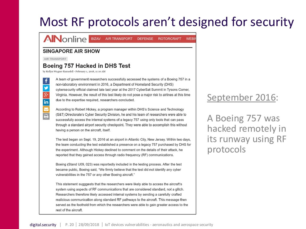 digital.security Most RF protocols aren't desig...