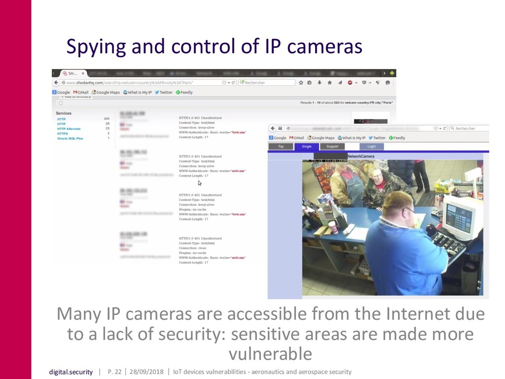 digital.security Spying and control of IP camer...