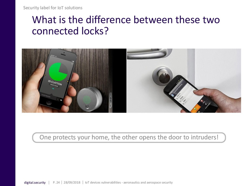 digital.security What is the difference between...