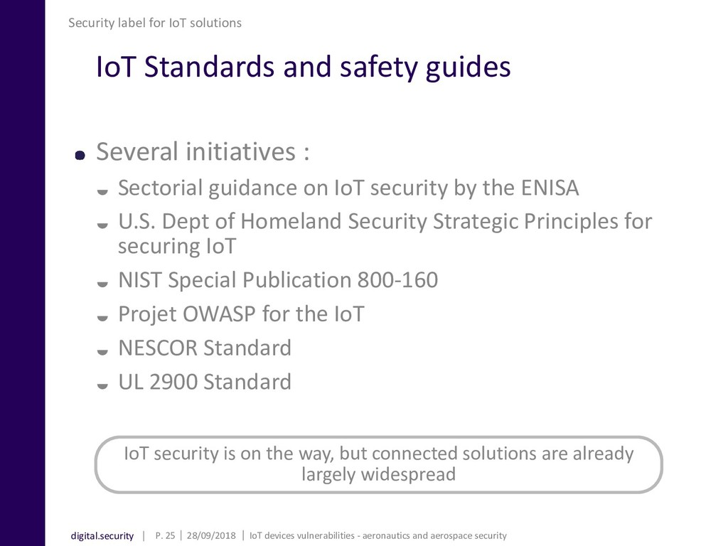 digital.security IoT Standards and safety guide...