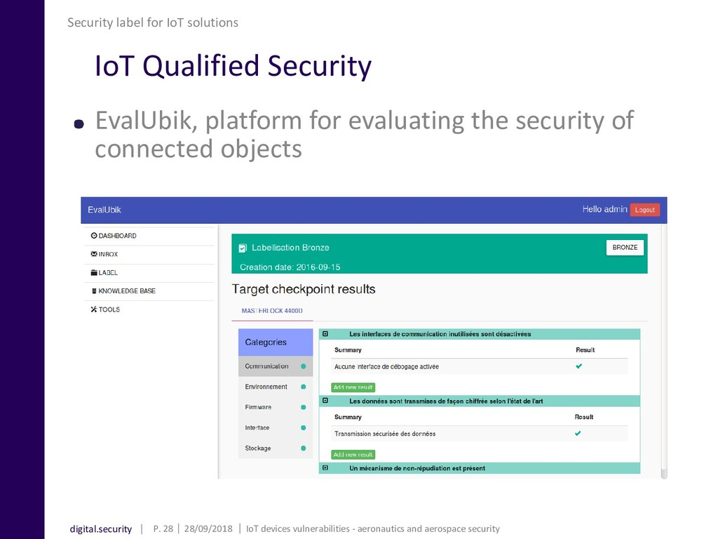 digital.security IoT Qualified Security EvalUbi...
