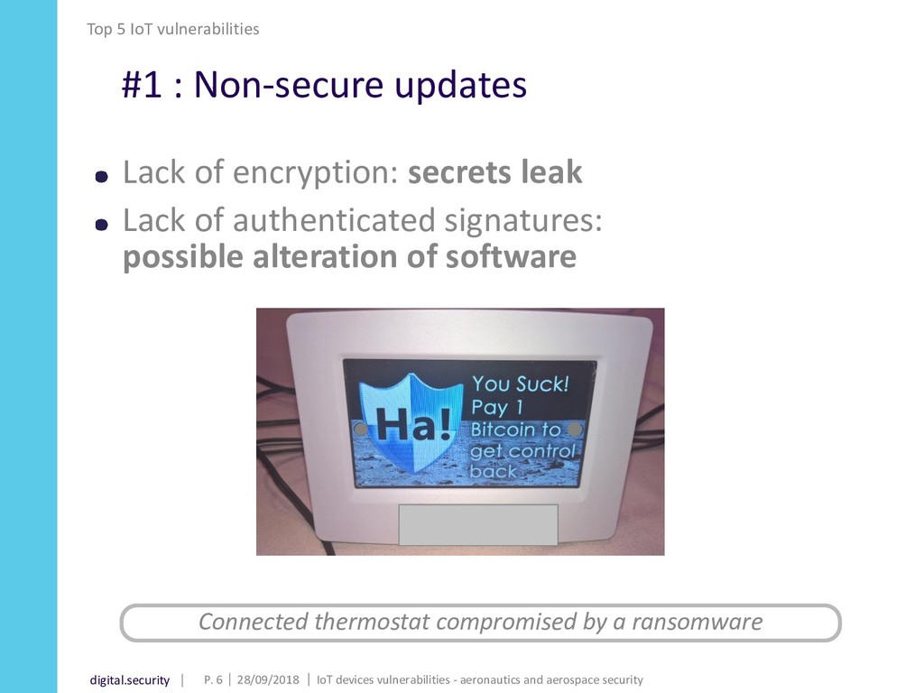 digital.security #1 : Non-secure updates Lack o...