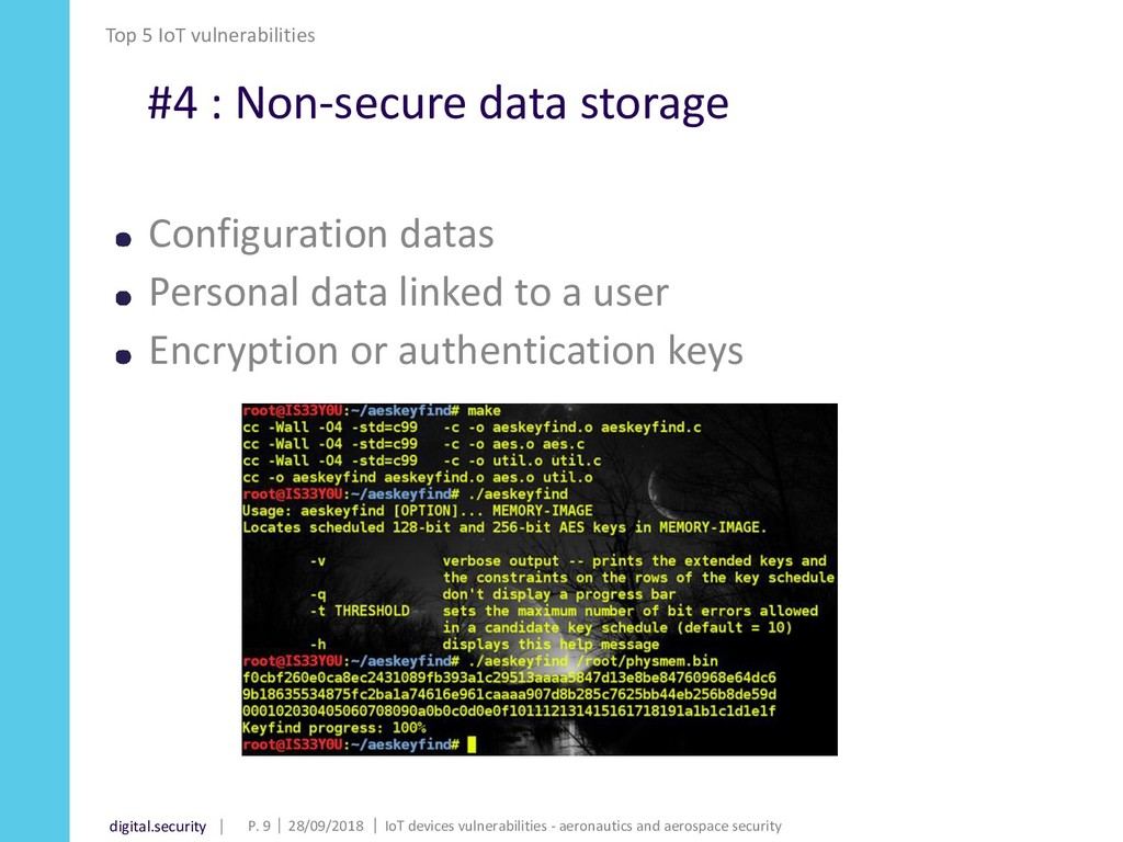 digital.security #4 : Non-secure data storage C...