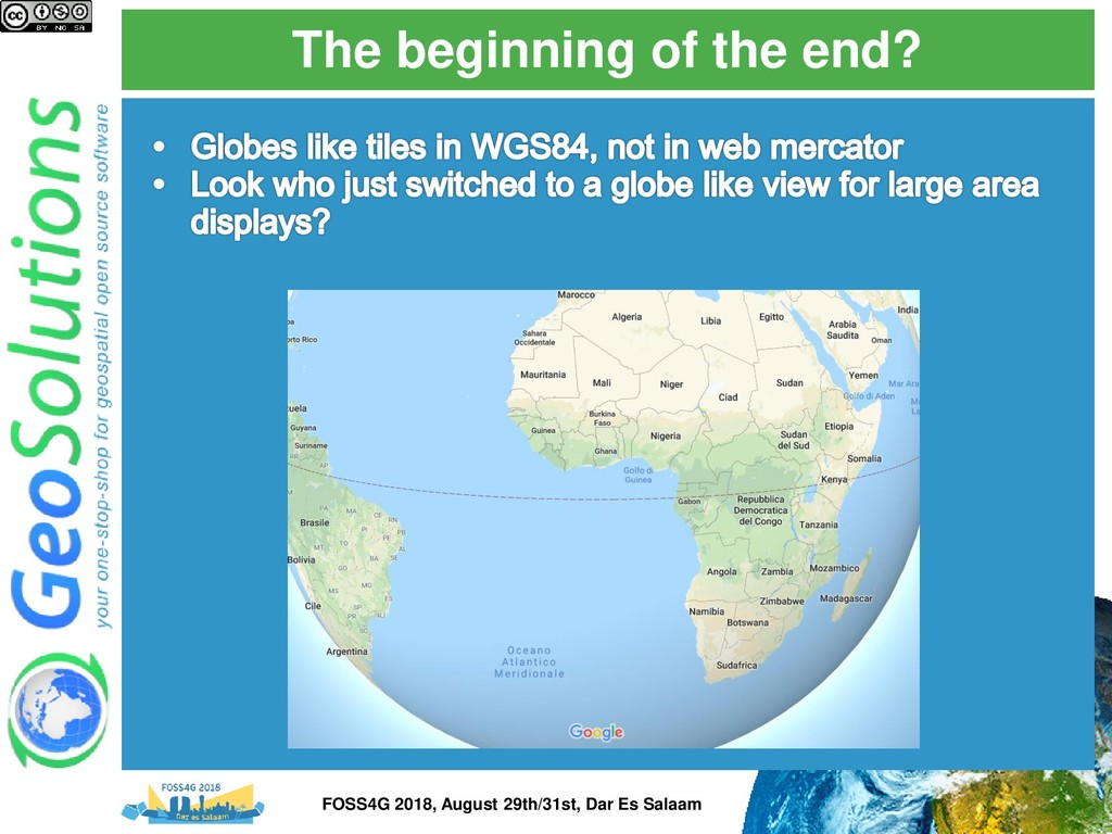 The beginning of the end? FOSS4G 2018, August 2...