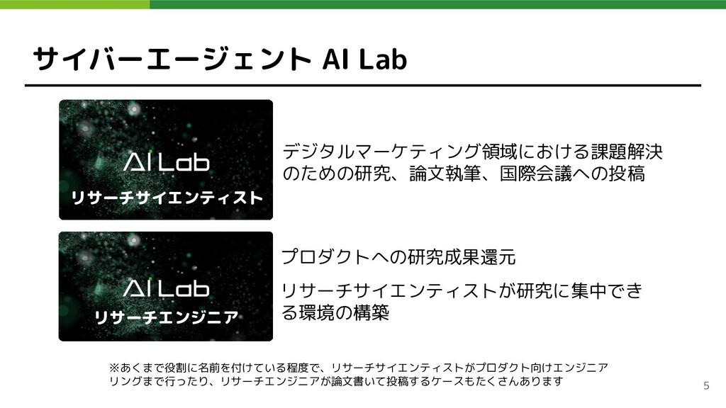 サイバーエージェント AI Lab プロダクトへの研究成果還元 リサーチサイエンティストが研究...