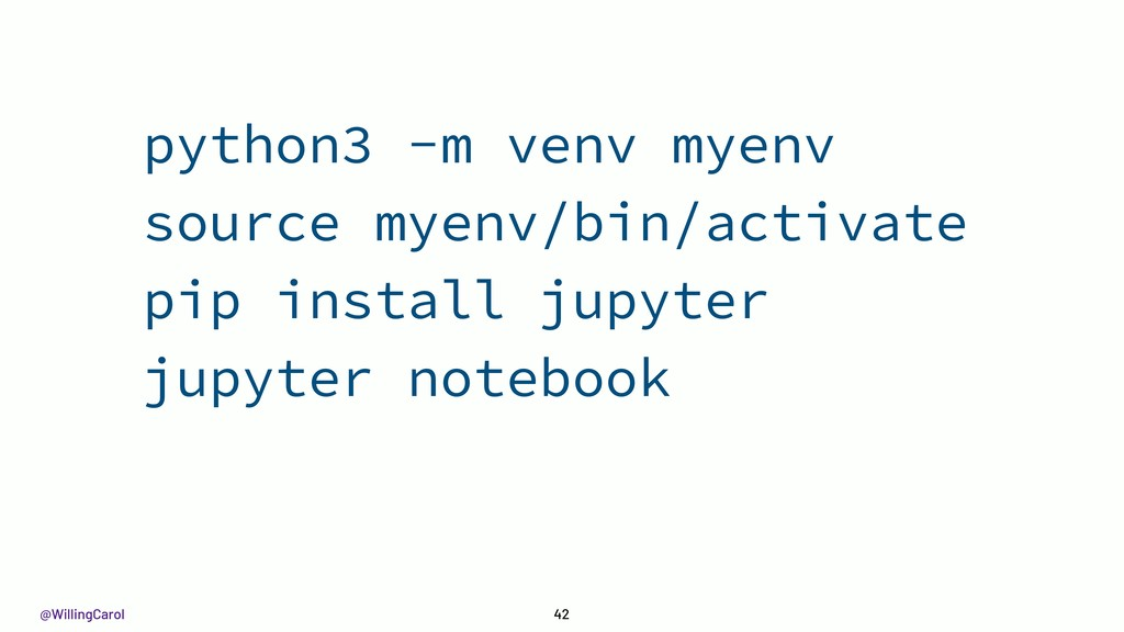 @WillingCarol 42 python3 -m venv myenv source m...