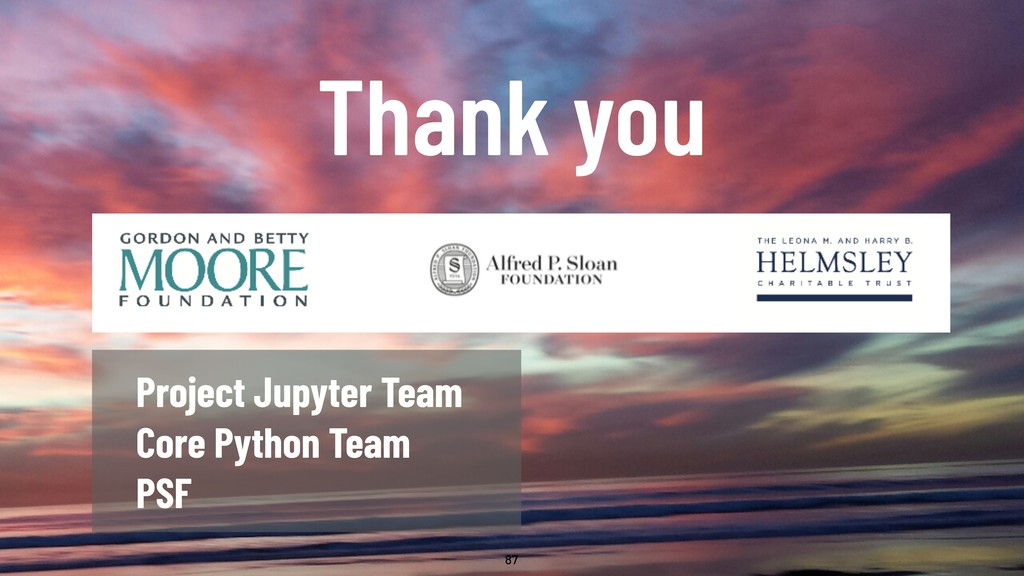 @WillingCarol 87 Thank you Project Jupyter Team...