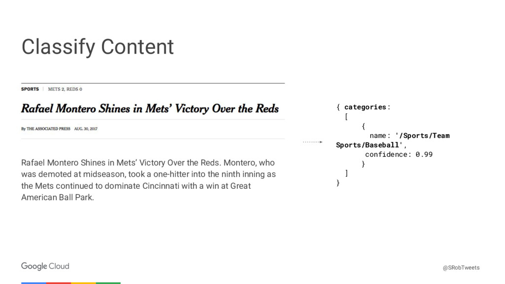Confidential & Proprietary Classify Content Raf...