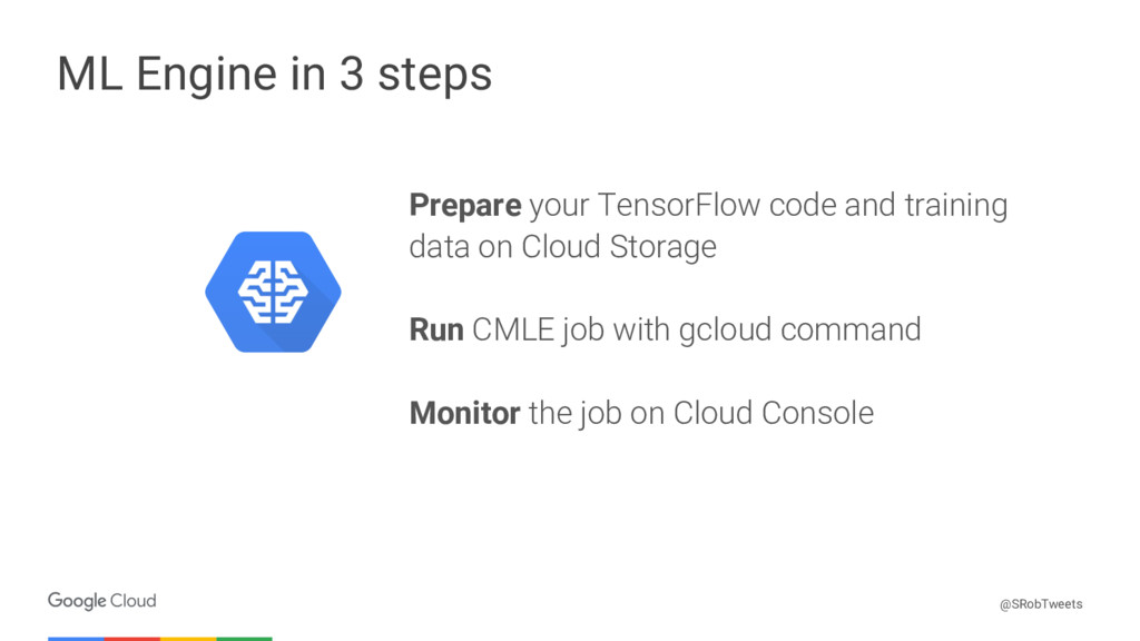 Confidential & Proprietary ML Engine in 3 steps...