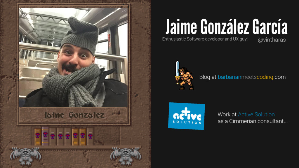 Jaime Gonzalez Enthusiastic Software developer ...