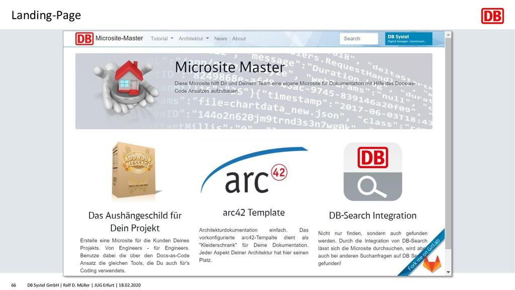 Landing-Page DB Systel GmbH | Ralf D. Müller | ...