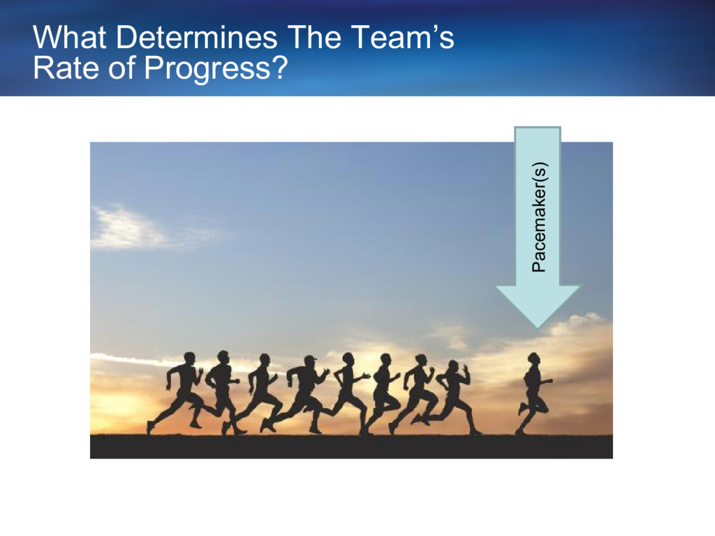 What Determines The Team's Rate of Progress? Pa...