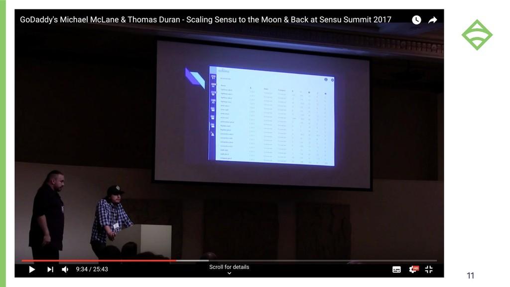 Scaling Sensu Core (1.X) 11