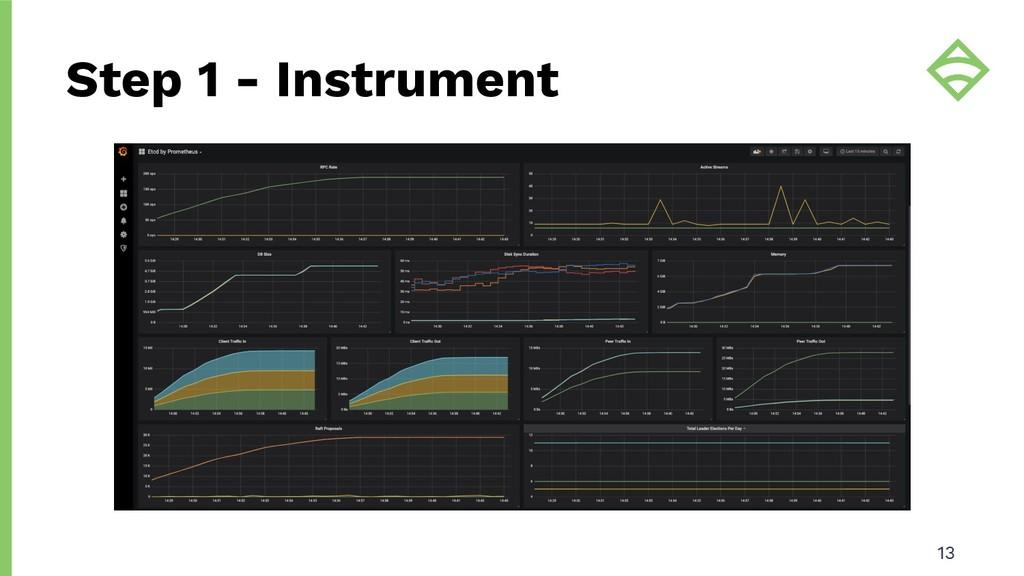 Step 1 - Instrument 13