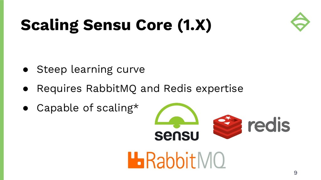 ● Steep learning curve ● Requires RabbitMQ and ...