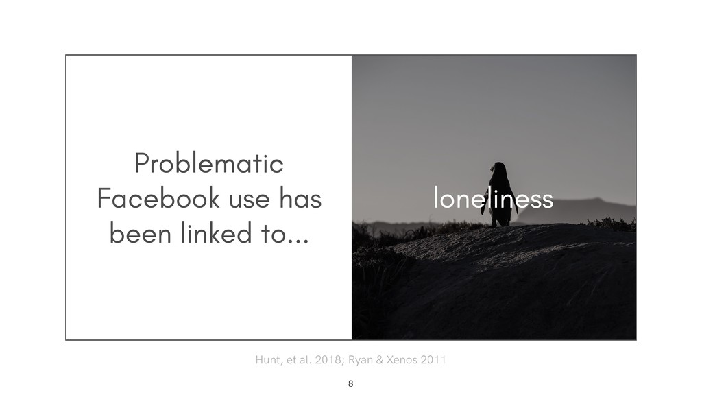 Problematic Facebook use has been linked to... ...
