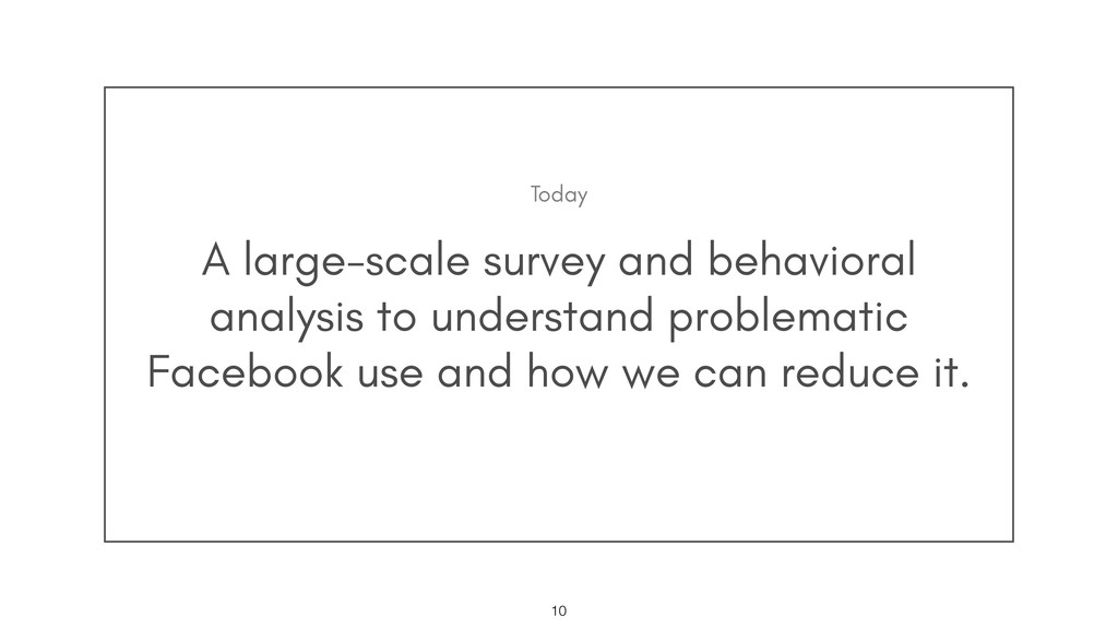 A large-scale survey and behavioral analysis to...