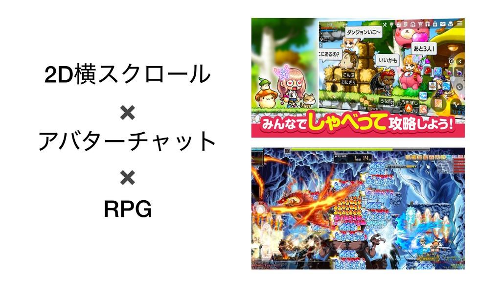 2DԣεΫϩʔϧ ✖ Ξόλʔνϟοτ ✖ RPG