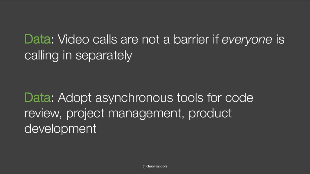 Data: Video calls are not a barrier if everyone...